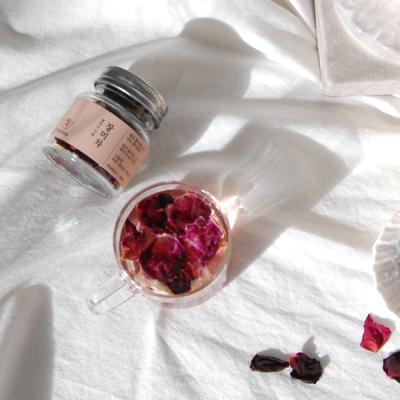 [포이티] 목련꽃잎차 장미차 꽃차선물세트