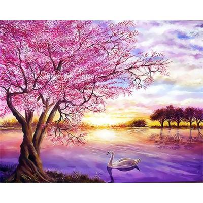 아이엠미니 DIY 별빛 명화그리기 40x50_백조의 호수
