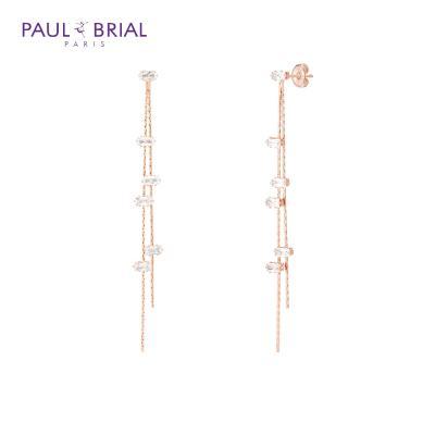 폴브리알 PYBE0092 (PG) 바게트 드롭 귀걸이