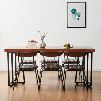 코디 2000x600 우드슬랩 식탁 8인용 테이블