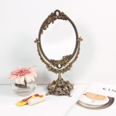 실버 로즈스타 스탠드 거울 (소)