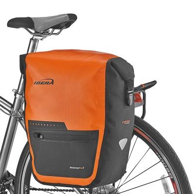 아이베라 완전 방수 자전거 짐받이 패니어 가방