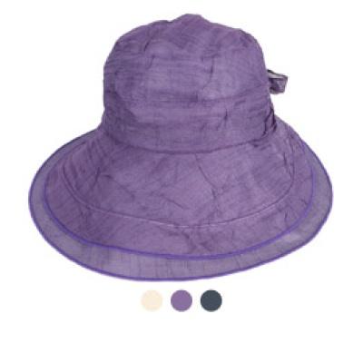 [디꾸보]쿨 바이저 플로피햇 썬캡 리본 모자 JAN378