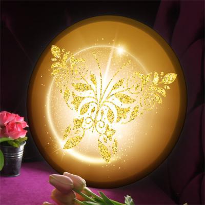 na757-LED액자35R_금빛나비