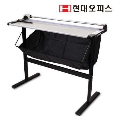 [현대오피스] 트리머재단기 PT-960R / 1회10매재단 /