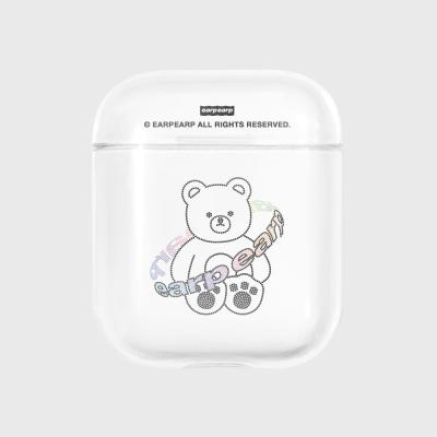 Twinkle gem bear-clear(Air pods)