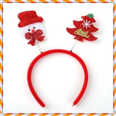 크리스마스 머리띠 모음 파티용품 X-MAS 소품(눈사람)