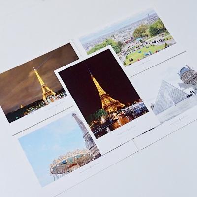 메리필름 파리 폴라로이드 여행 엽서 set (5장)