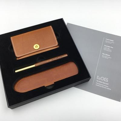 LOG Gift Set 만년필 카드지갑세트 (cw402s)