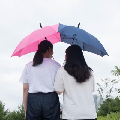 너랑 나 둘이서 하나 커플우산