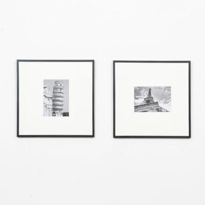 왈가닥스 메탈 텐텐스퀘어 포토프레임 10x10인치 스퀘어 - 알루미늄액자,벽걸이액자