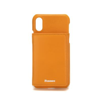 FENNEC iPHONE X/XS TRIPLE POCKET CASE - MANDARIN