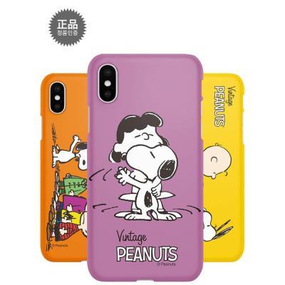 정품 스누피 큐티 스마트폰 하드케이스