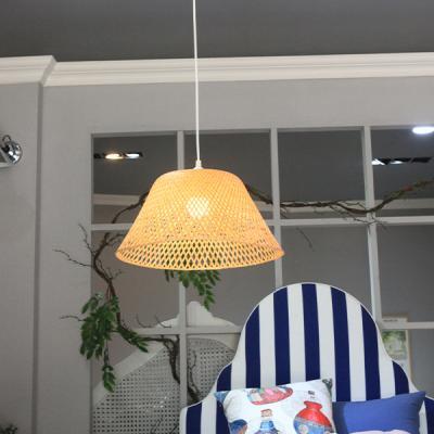 내츄럴 라탄전등갓 식탁등 라탄 인테리어조명