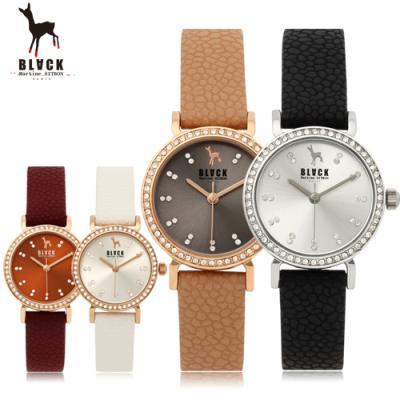 [블랙마틴싯봉] 여성 가죽 손목시계 BKL1513L