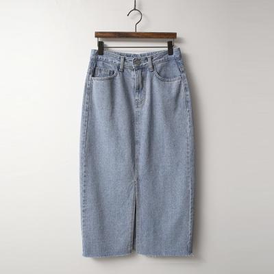 Salt Denim Long Skirt