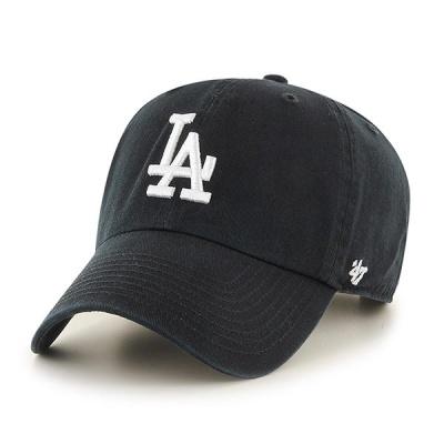 47브랜드 MLB모자 엘에이 다저스 블랙 화이트로고
