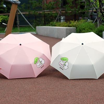 국내캐릭터 호롱포롱 정품 3단 우산