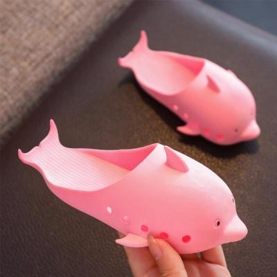 귀여운 돌고래 샌들 슬리퍼 아쿠아슈즈 젤리 학생신발