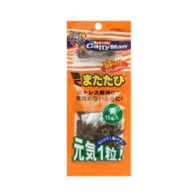 캐티맨 마따따비 열매15g 고양이 스트레스해소 간식