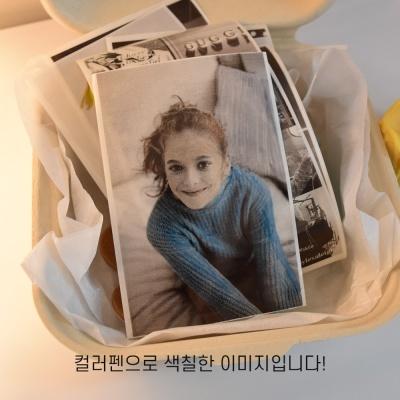 모바일 포토 스티커 프린터 PAGEE+컬러펜24색 SET