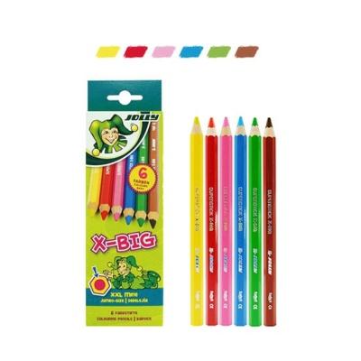 지구화학 졸리 X BIG 색연필 6색