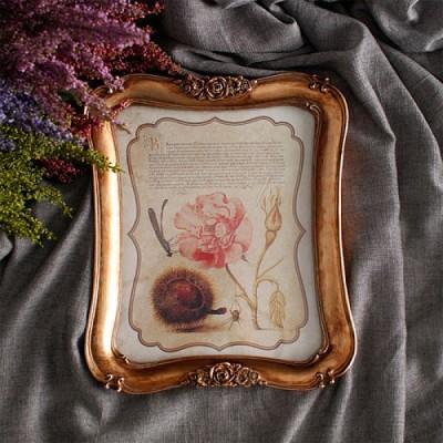 [2HOT] 골드 로즈 벽걸이 액자