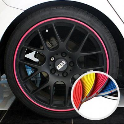 자동차 휠 흠집 보호 휠 가드 프로텍터