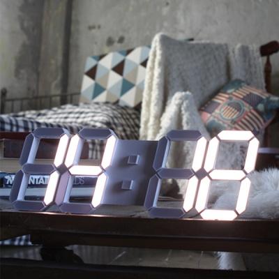 데코앤 루나리스 3D LED 벽시계 38cm LG전구 38cm