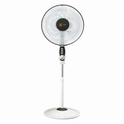 사파이어선풍기 HJ-1601/업소용/거실용/3엽날개/저소음/3단계풍량/2시간타이머