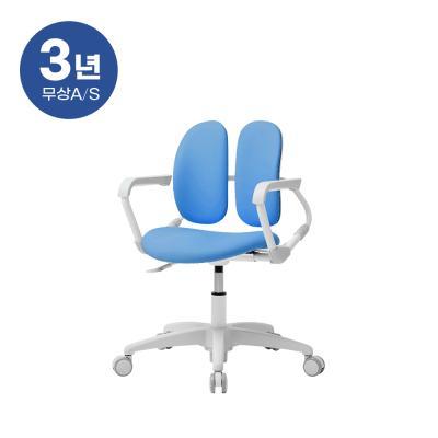 듀오백 밀키 218H 아동의자 무회전중심봉