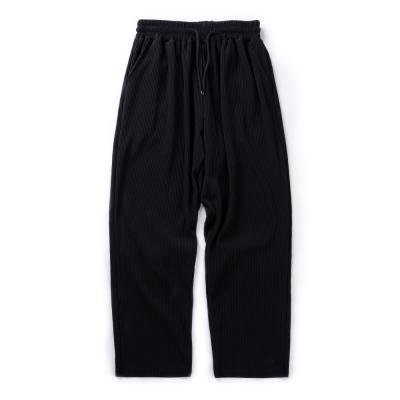 CB WIDE PLEATS PANTS (BLACK)