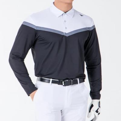 골프웨어 골프복 긴팔 티셔츠 남성 기능성 라운딩 DB2