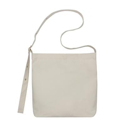 데일리 에코백 캔버스 숄더백 도트백 가방 버클