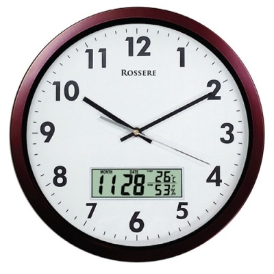 [로제르] 디지털온습도벽시계 LCD350 [개/1] 299862