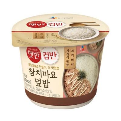 [CJ제일제당] 참치마요덮밥 204gx3개