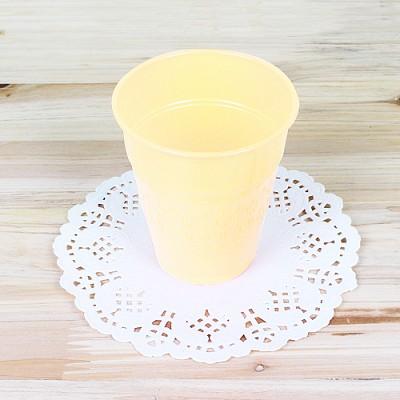 파티용 칼라 컵-아이보리(10개입)