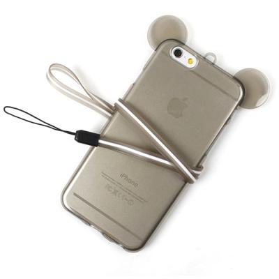 클리어 젤리 귀요미 동물컨셉케이스(아이폰5/5S)