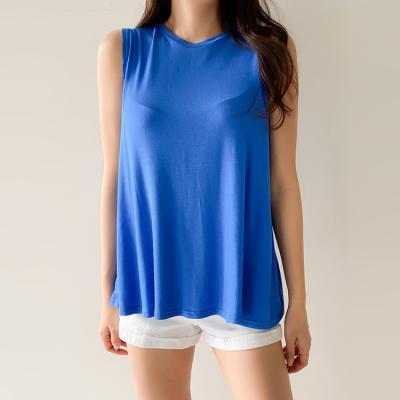 에이라인 민소매 티셔츠 4color