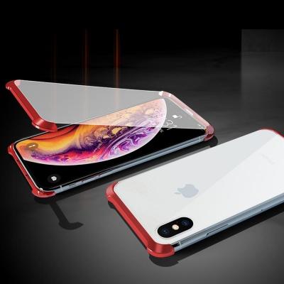 아이폰7 7플러스 풀커버 마그네틱 자석 투명 폰케이스