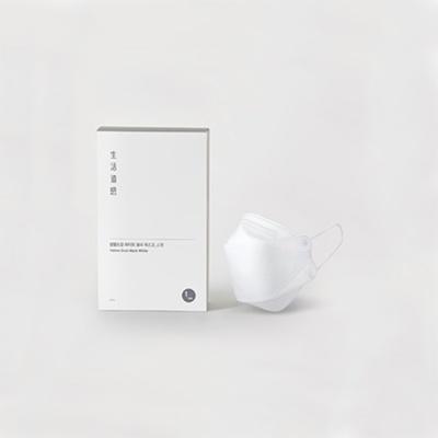 생활도감 황사마스크 KF94 - 화이트 (대형 30개입)