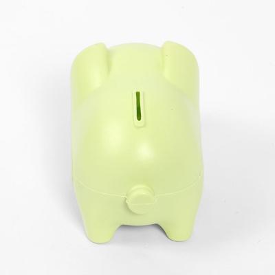 통통 파스텔 돼지 저금통(그린)