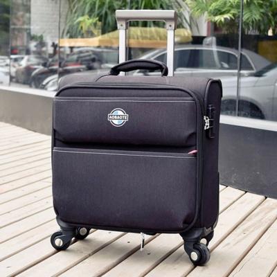 기내용 소프트 튼튼한 여행 가방 캐리어 16형 블랙