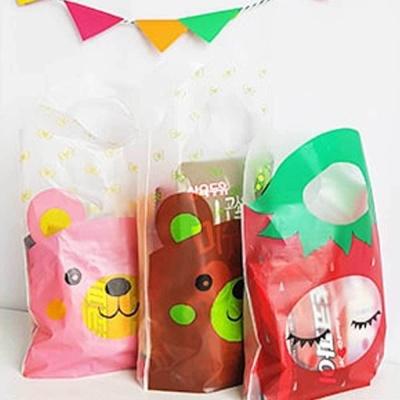 어린이집 생일 파티 선물 포장 손잡이 미니 비닐팩