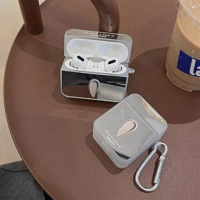 에어팟 프로 2 1 블링블링 미러 디자인 실리콘 케이스
