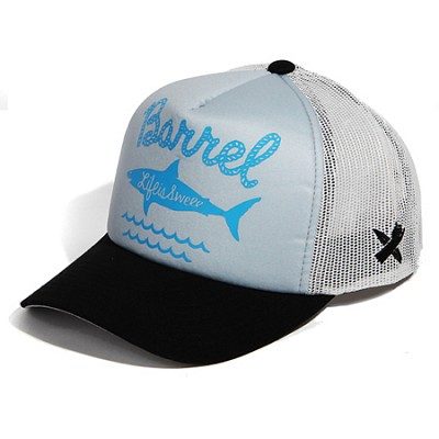 Shark Mesh Cap Grey