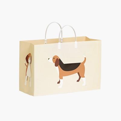 PLUSBOX PAPER BAG (Beagle) (쇼핑백)