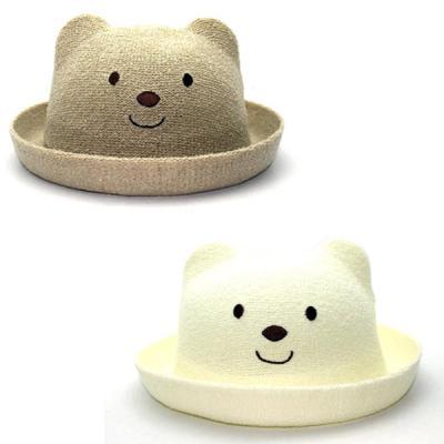 귀여운 베이비 곰돌이 밀짚모자 (7개월-3세) 202624