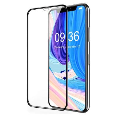슈퍼쉘 아이폰11 풀커버강화유리 액정보호 필름 4DF