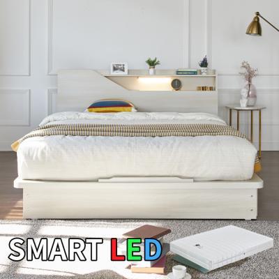 스마트 LED 침대 퀸(독립스프링매트) KC172Q